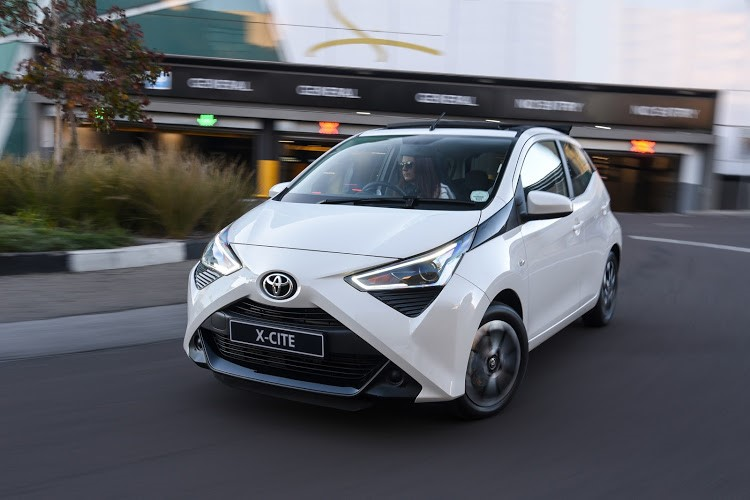 Toyota Aygo (pictured) shares its frugal 1.0-litre engine with the Peugeot 108.