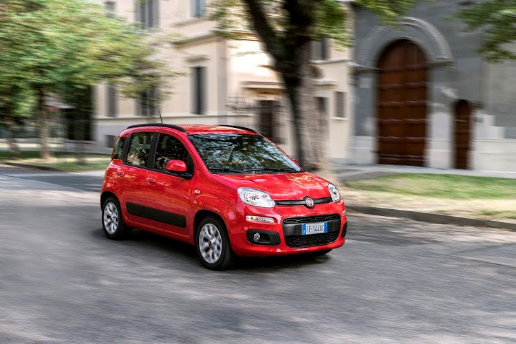 The cute and practical Fiat Panda has low running costs as part of the package.