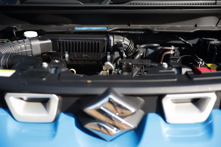 1.0-litre three-cylinder motor is willing and torquey.