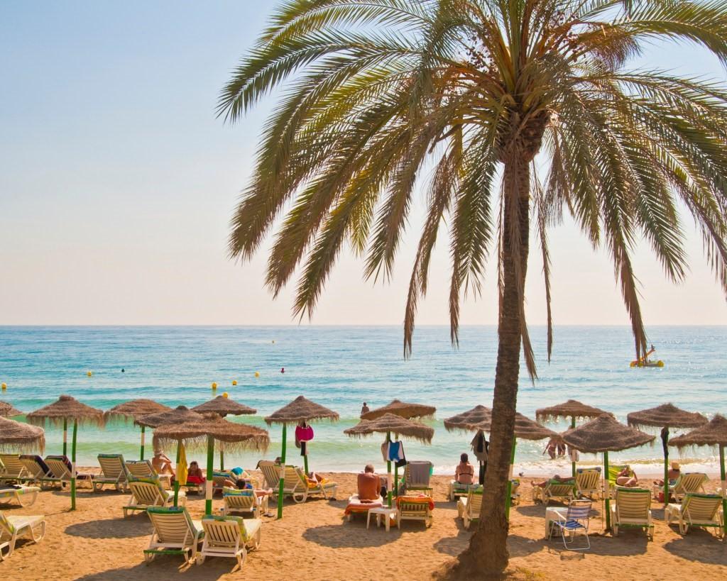 Marbella beach, Spain. (Photo by John Harper/Getty Images)
