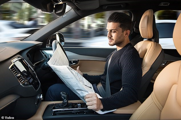 Automated Lane Keeping Systems will be able to take over driving on motorways, suggesting it will allow users to do other things, such as watch a movie on their phone or read the newspaper