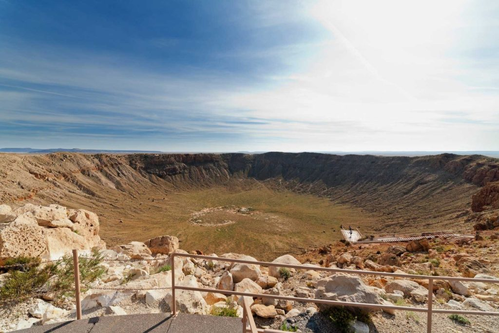 Meteor Crater in Arizona