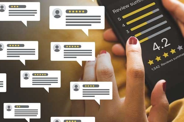 Don't Run From Customer Reviews on the Internet