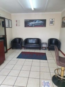 Office Seating Area Car Valet Panel Beaters