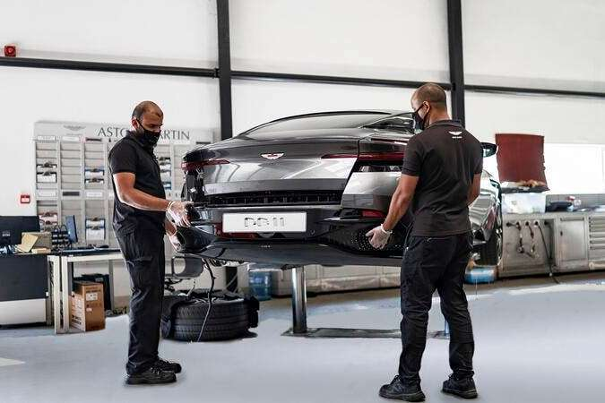 Aston Martin Dubai S Service Centre Secures 5 Star Rating Cra