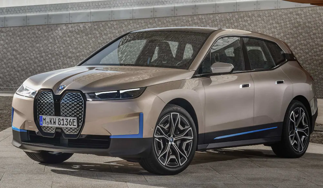 "2022 BMW iX To Feature Innovative ""Digital Grille,"" Adaptive Roof Tinting"