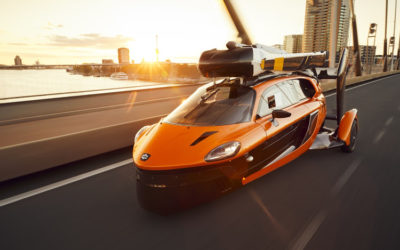 World's First Street-legal Flying Car Takes To The Road