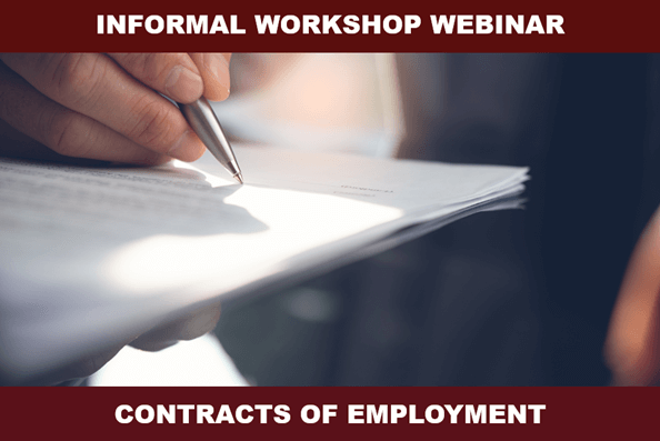 Informal Employment Contracts Training Workshop For Business Owners