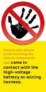 Electric Vehicle Safety Battery & High-voltage Precautions