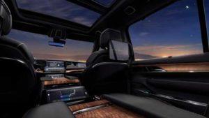 Jeep's New Grand Wagoneer Inside