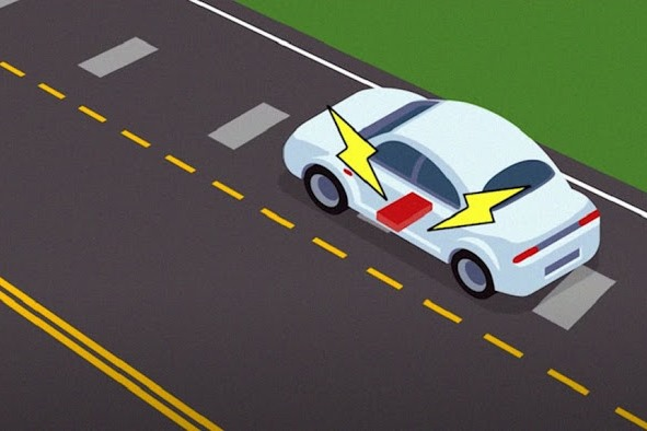 Magnetic Roadway Could Wirelessly Charge Electric Vehicles