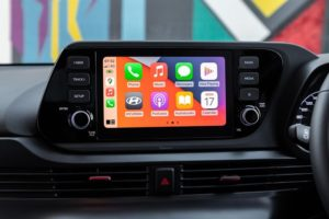 A touchscreen infotainment system is standard on all models.<br /> Image:Supplied