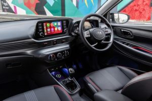 The new i20 is well equipped and sports modern design touches.<br /> Image:Supplied