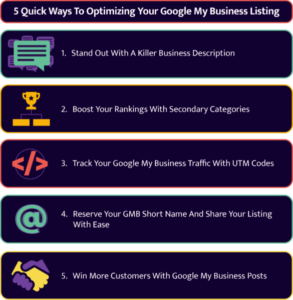 How to optimise your Google My Business listing.