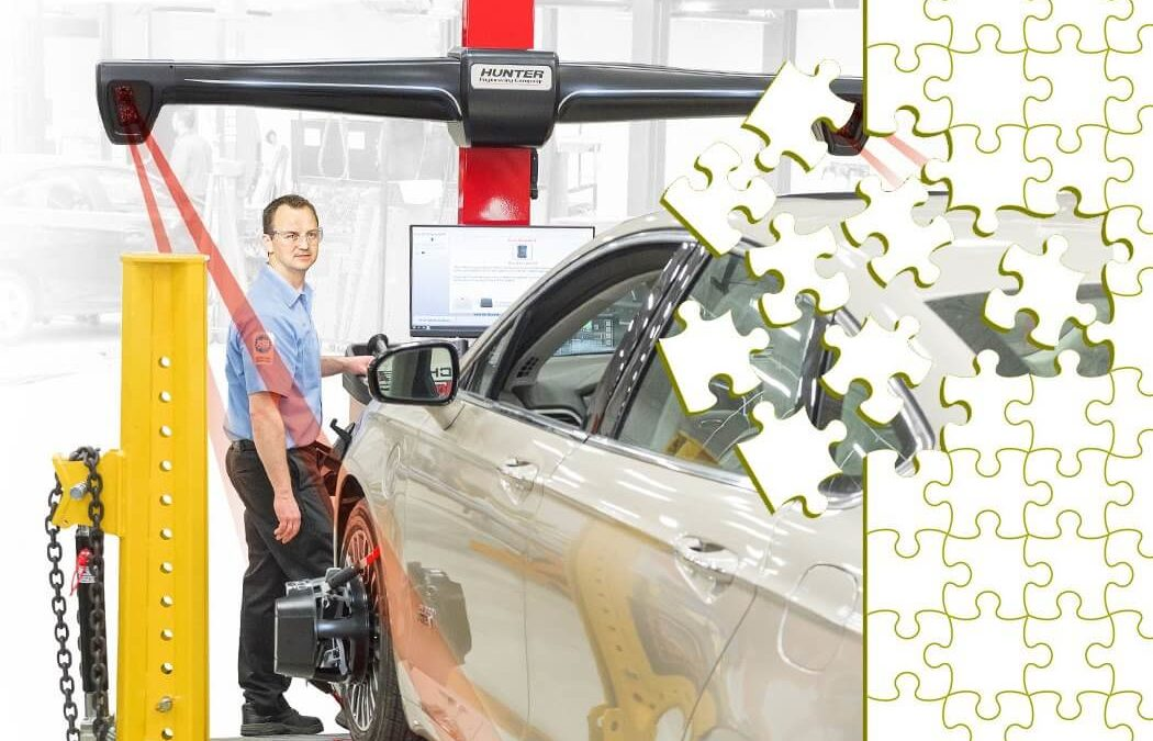 ADAS And Wheel Alignment Connect Like Puzzle Pieces