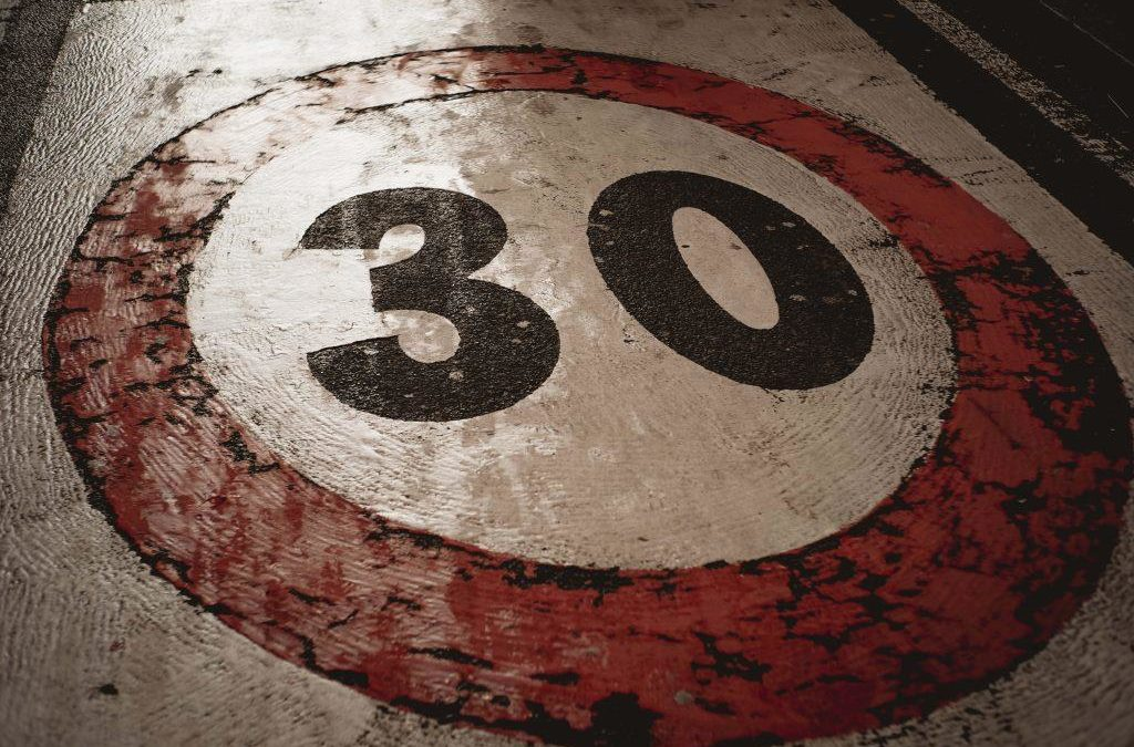 30 km/h Speed Limits Suggested To Reduce Fatalities